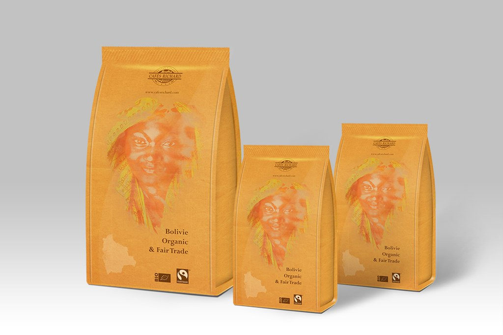 CR Bolivie Organic & Fair Trade Packaging