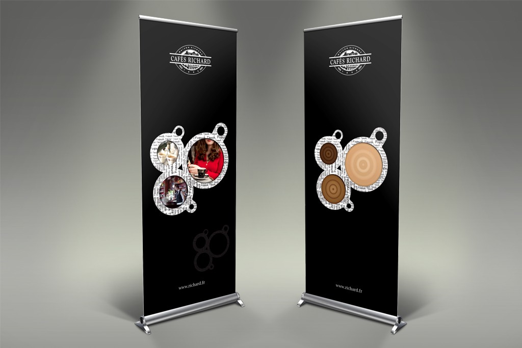 Cafes Richard Rollup Banner