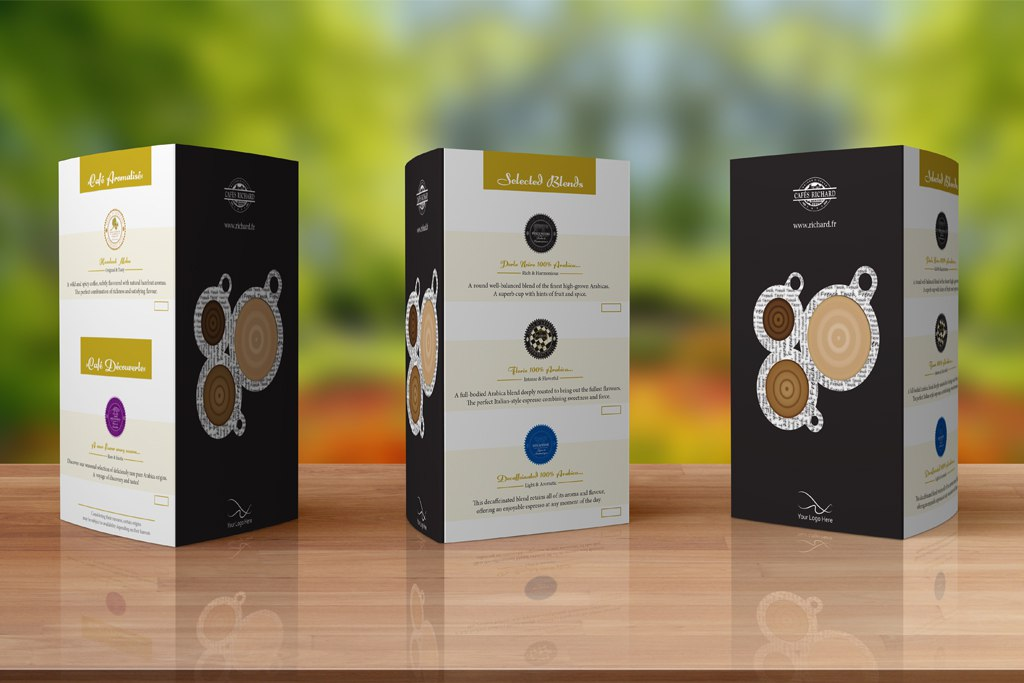 Cafes Richard Table Tents 2
