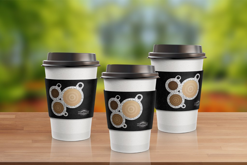 Cafes Richard To-Go Cups