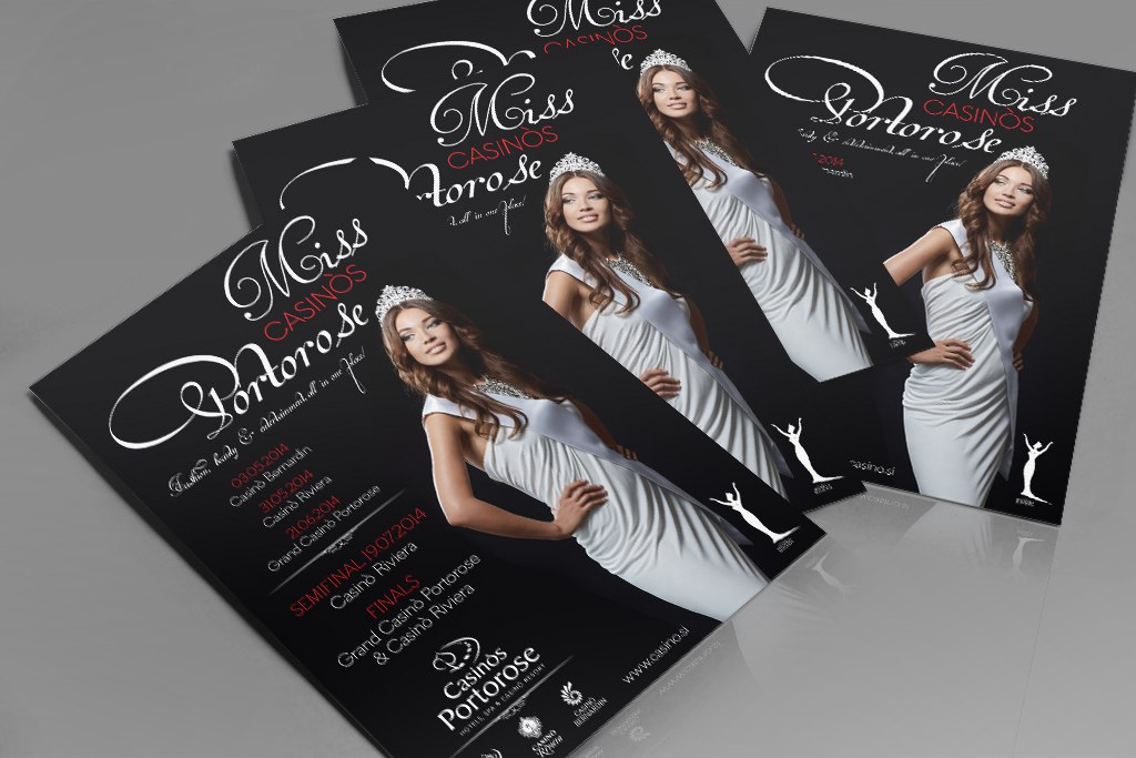 Miss Casinos Portorose Flyer