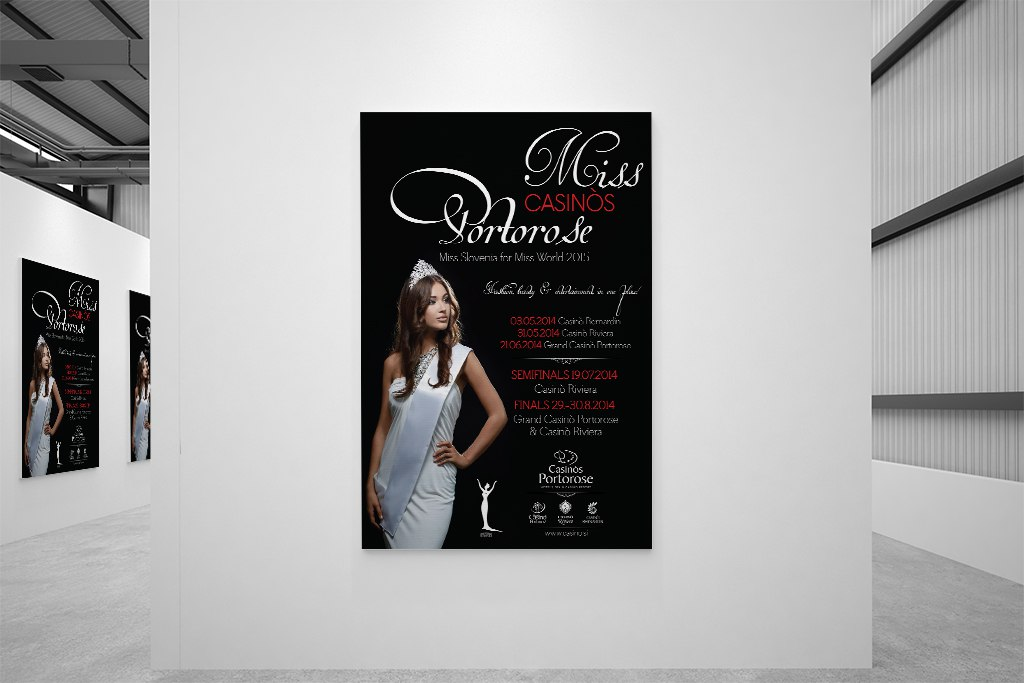 Miss Casinos Portorose Poster